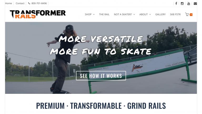 Transformer Rails by Haunted Mesa Web Design